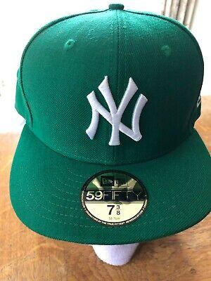 New Era 59Fifty New York Yankees MLB Basic 5950 NY Baseball Cap 7 3/8