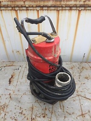 Multiquip St-2040t Submersible Water Trash Pump 2 Diameter 40 Head 79 Gpm