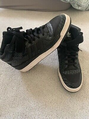 Adidas High-Top Men's Trainers - Snake Skin Effect - UK Size 11.5