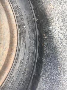 4x4 spare tyres for sale or swap for something interesting Bayswater North Maroondah Area Preview