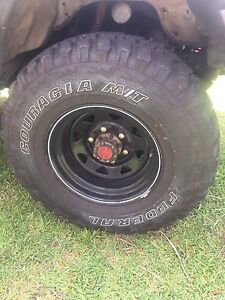Sunraysia rims & mud tyres Springfield Lakes Ipswich City Preview