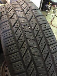 215/65/16  tires with steel rims Nissan x-trail