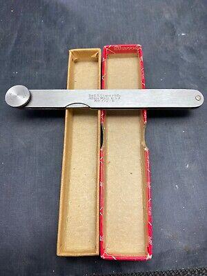 Starrett No. 172b Thickness Gage In Box