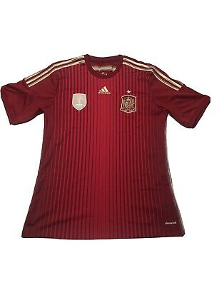 New ADIDAS Spain 2010 WORLD CUP CHAMPIONS Football Soccer Jersey SZ L image
