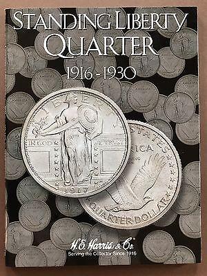 Standing Liberty Quarter 1916-1930 - Quarter Folder Album Collecting - HE Harris