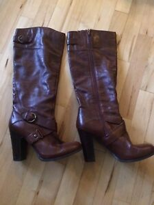 Nine West Size 7 Leather Boots