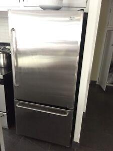 Frigo/fridge GE general electric inox stainless steel