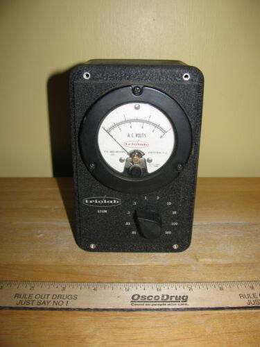 VTG TRIOLAB VACUUM TUBE VOLTMETER MODEL 103-2