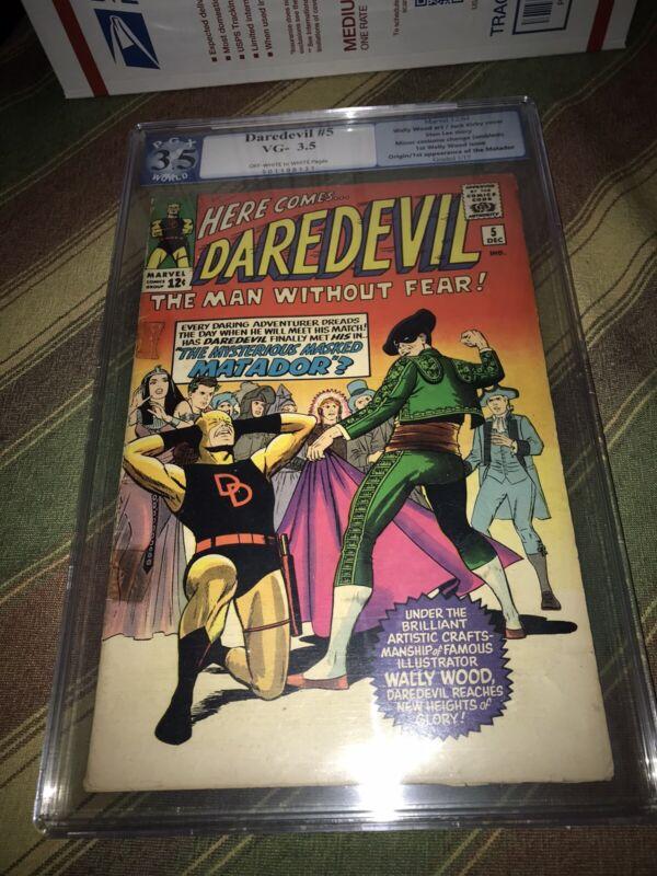 daredevil #5 PGX 3.5