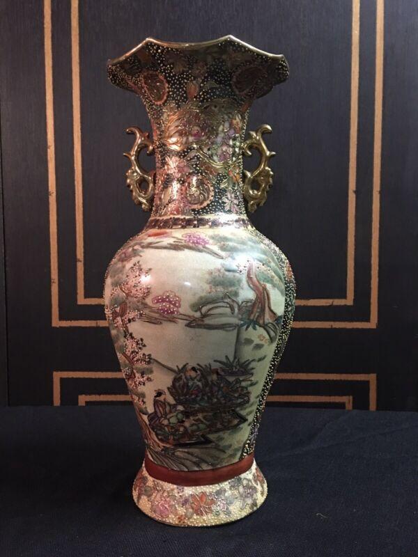 Impressive Satsuma Vase