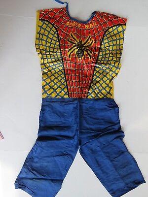 1970 Halloween Costume ( Vintage 1970's Ben Cooper Halloween Costume Spiderman TV Comic Hero)