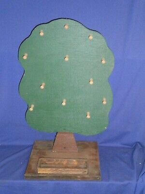 Vintage Apple Tree Wood Display Rack For Ornaments Key Rings Jewelry Or Whatever