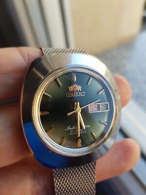 reloj Orient Southern Cross , 21 jewels, automatico, serviced segunda mano  Embacar hacia Argentina