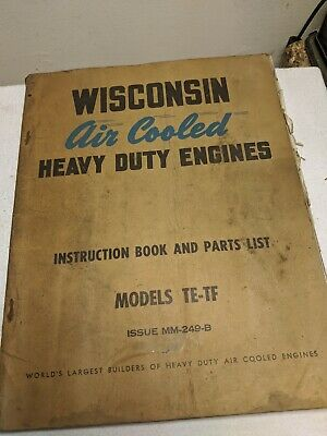 Wisconsin Air Cooled Engine Manual Te Tf