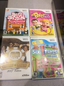 Nintendo Wii Games $5! For All 4!