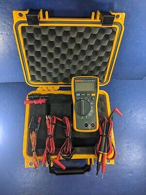 Fluke 116 Trms Multimeter Excellent Screen Protector Hard Case More