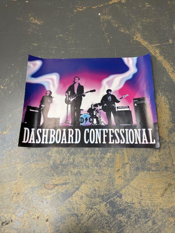 Dashboard Confessional Album Poster 17x23 A Mark A Mission A Brand A Scar