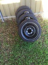 6 stud Toyota wheels and tires Cameron Park Lake Macquarie Area Preview