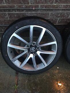 """VE SSV SERIES 2 19"""" mag wheels"""