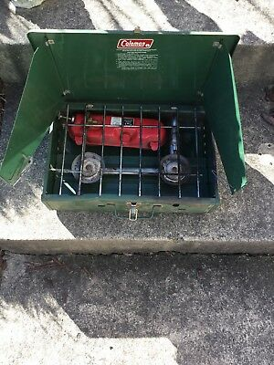Coleman 425F Two Burner Camp Stove Untested