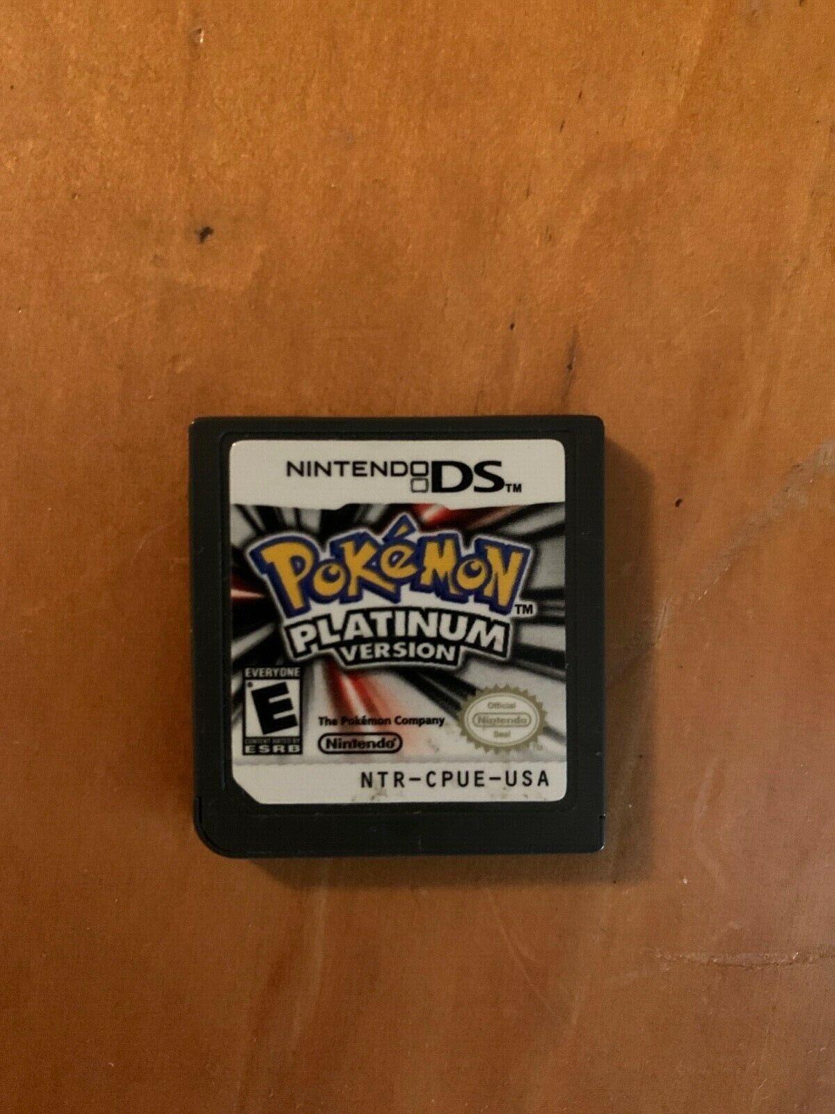 Pok mon Platinum Version Nintendo DS, 2009  - $60.00