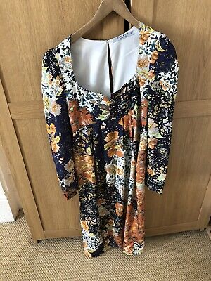 Maternity Hope And Ivy Floral Dress 10UK