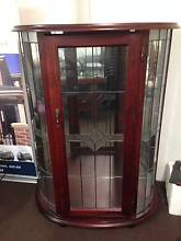 Antique Wooden Display Cabinet with Glass Shelves Keysborough Greater Dandenong Preview