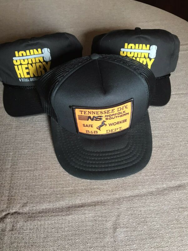 Norfolk Southern Hat And Two Others Preowned