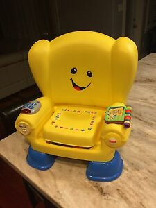 Fisher Price Laugh and Learn play chair