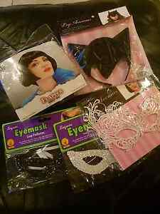 Ladies Wig & Mask Pack Halloween Party Dressup Stieglitz Break ODay Area Preview