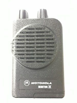 New Motorola Minitor Iv 4 Pager Vhf Low Band 33 -49 Mhz 4-channel A01kus7239ac