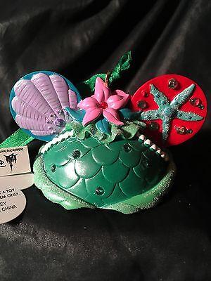 Disney Ariel Ear Hat Little Mermaid Christmas Ornament new with tags