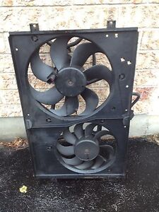Mk4 VW TDI manual RADIATOR FANS