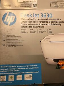 Wireless colour all-in-one inkjet printer