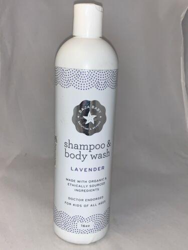 BAJA BABY BATHTIME & BEYOND~Shampoo & Body Wash~Lavender~16 oz~SEALED