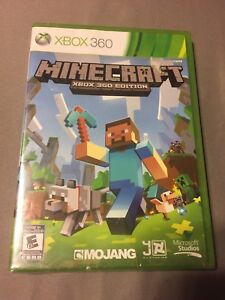 Minecraft for XBOX360 Sealed
