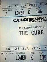 The Cure Melbourne 28th July Abbotsford Yarra Area Preview