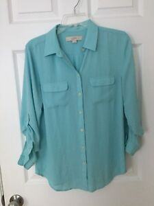 LOFT ladies sheer blouse