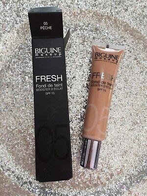 Biguine Makeup Fresh Foundation Booster D Shine SPF 15 05 Peach -