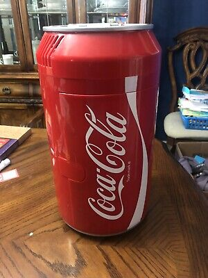Koolatron Coca-Cola Can Fridge Beverage Center CC06 Removable Tray TESTED