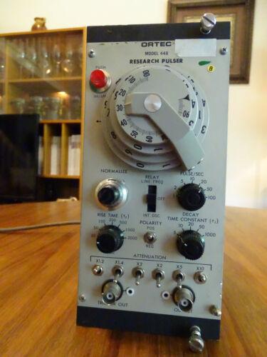 ORTEC Research Pulser Model 448, serial number 278