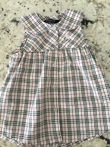 Burberry London baby dress 6 -9 months