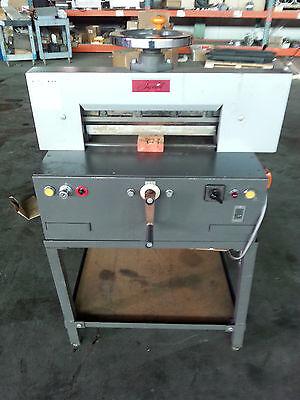 Imperial Uchida Power Paper Guillotine Cutting Cutter Cap. 7cm Width 46 Cm