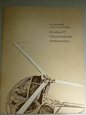 Hughes Helicopter Flight Training Manual, collectible BASICS students class 1964