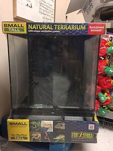 Exo Terra Small/Tall Terrarium *brand new*