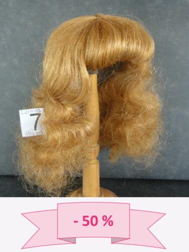 -50% PROMO PERRUQUE de POUPEE T7 (28.5cm) 100% cheveux Longue -DOLL WIG