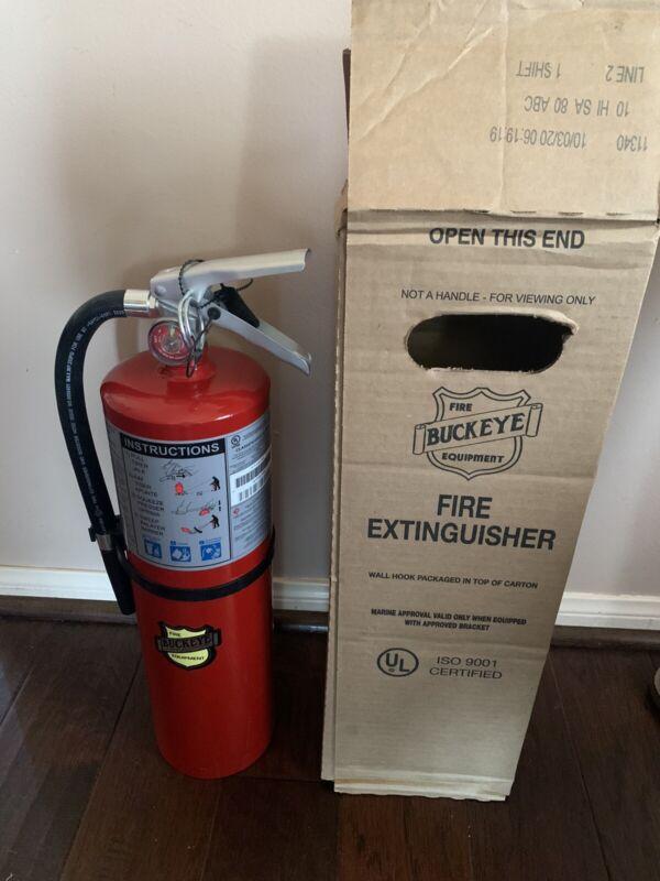 Buckeye Model 11340 ABC 10 lb Fire Extinguisher NEW 10/20