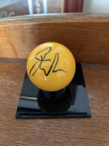 Hand Signed Jack Lisowski Yellow Ball Coa
