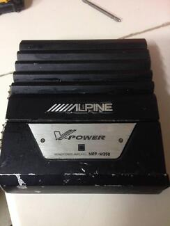 Car Audio Sub Amplifier - Mono Block - Alpine MRP M350 Gumeracha Adelaide Hills Preview