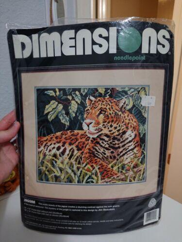Dimensions Jaguar Needlepoint Kit - $40.00